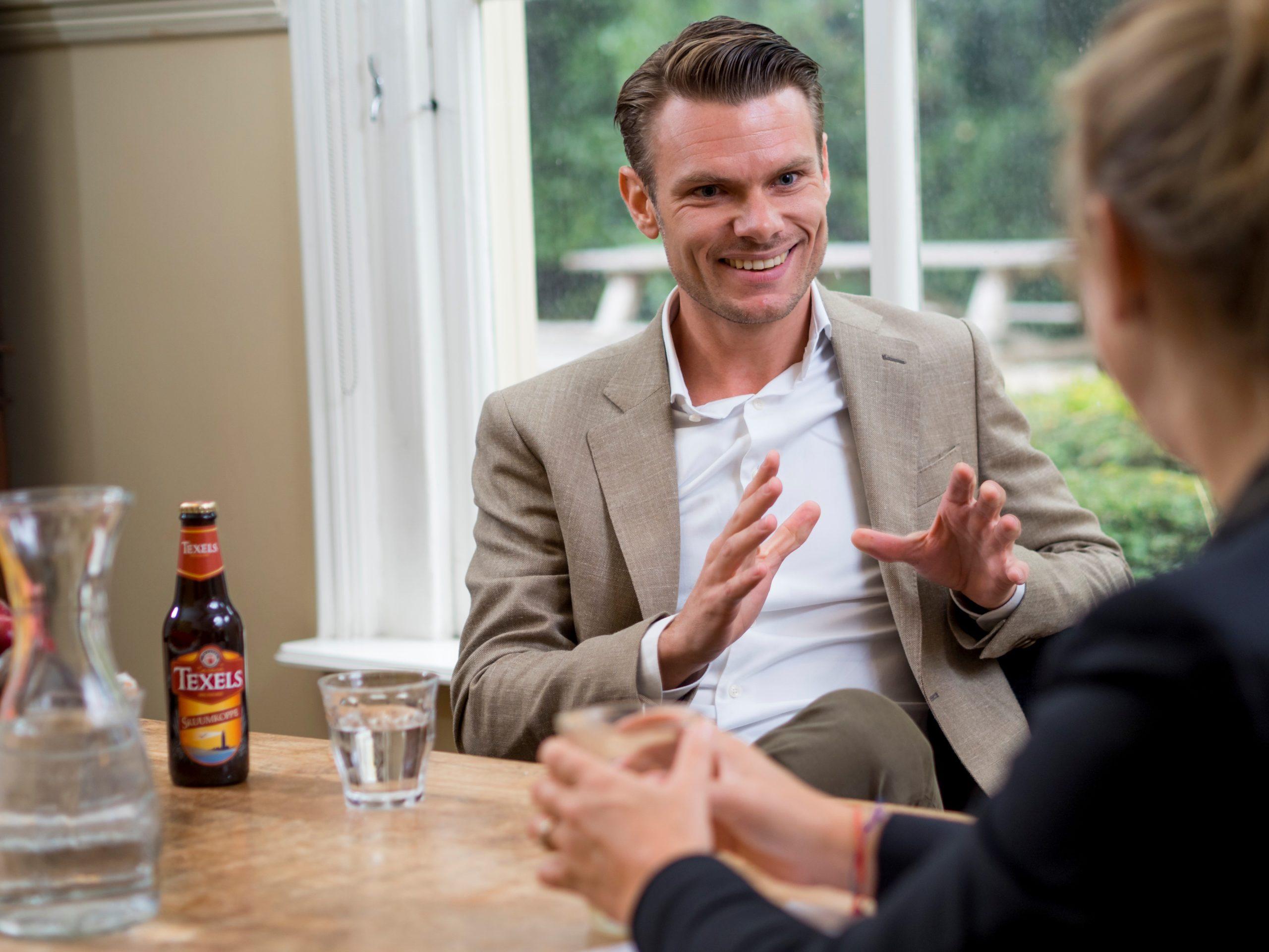 De selling skills van Texels' verkopers